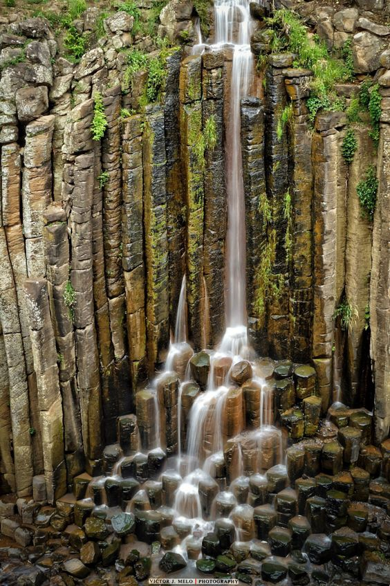 Prismas basálticos Huasca de Ocampo, Hidalgo, México