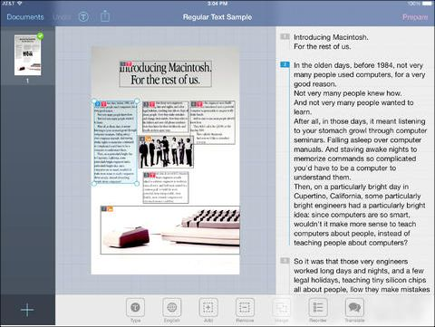 Recently I had the distinct privilege of working with Julie Freed, Grant Wood's Assistive Technology guru, to present a number of iPad apps that can be used to help improve the reading and/or writi...