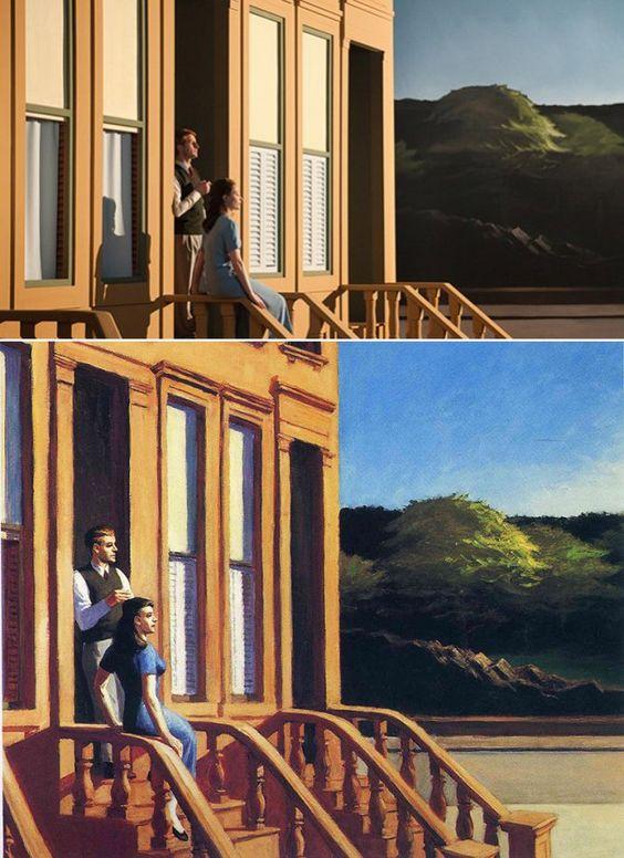 I dipinti di Edward Hopper diventano film: geniale - DAILYBEST