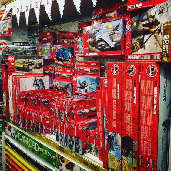 Loads of new airfix kits now in stock - the perfect Christmas present ( and Boxing day activity ) #giftideas #airfix #shoplocal