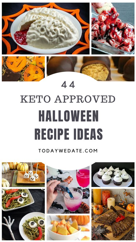 44 keto approved Halloween recipes