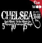BurpeesSuck.com RX Chelsea WOD: