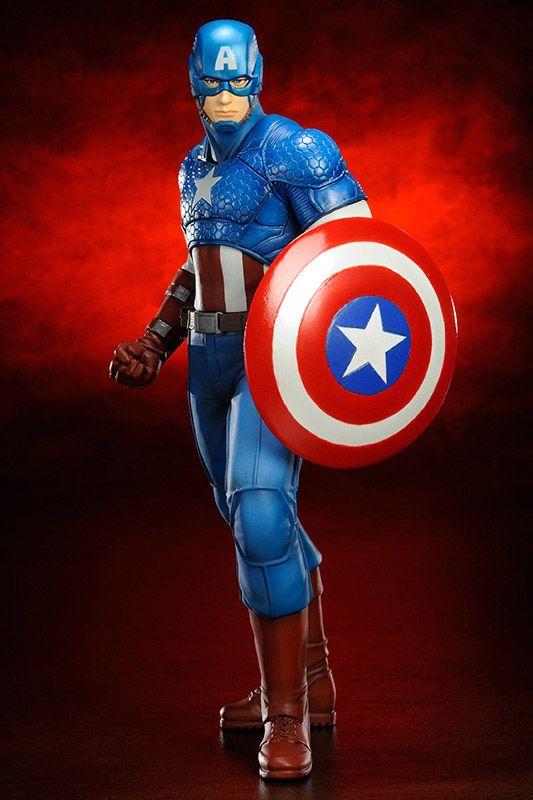 Marvel Comics statuette PVC ARTFX+ Captain America (Avengers Now) Kotobukiya