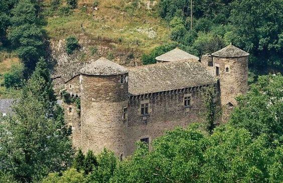 Castillo de Coupiac .Francia.