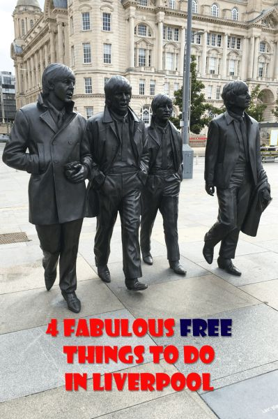 Weekend city guide with 4 Fabulour Free Things to do in Liverpool, England.