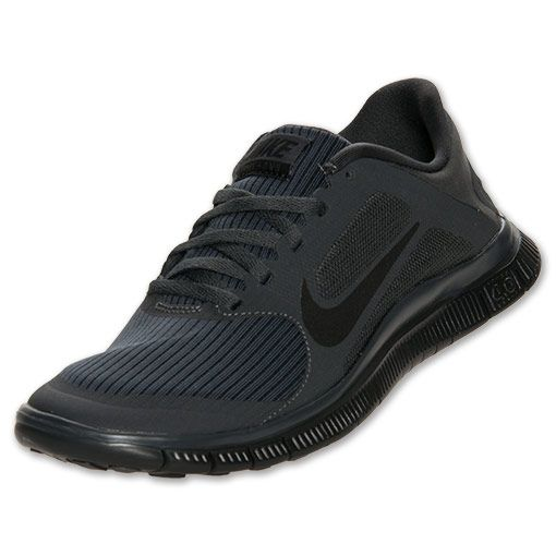 Over-60%-off Nike Free 4.0 V3 Womens Anthracite Black 580406 001