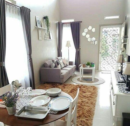 Contoh Ruangan Gabung Ide Ruang Keluarga Desain Interior Ide