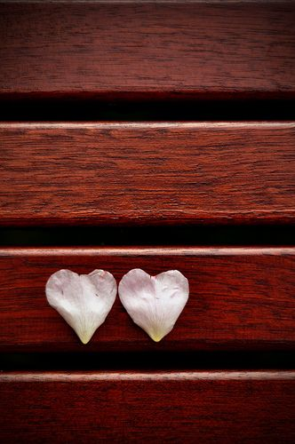 Two hearts beat as one......................d