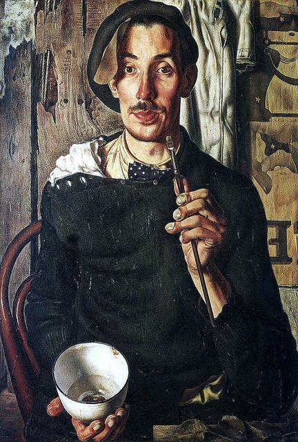 DickKet (Dutch, 1902-1940)  Self-Portrait  1939. Oil on canvas.