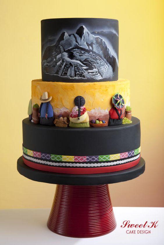 EDITOR'S CHOICE (09/17/2014) Peruvian Cake by Karla (Sweet K) View details here: http://cakesdecor.com/cakes/156851-peruvian-cake