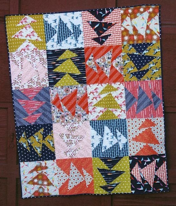 Monkey Business quilt sewing pattern from Abbey Lane Quilts  #quiltpatterns  #quiltspatterns #quiltideas #quiltingpatterns