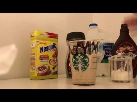طريقة فرابتشينو اليونيكورن من ستاربكس Youtube Nesquik Food Tableware