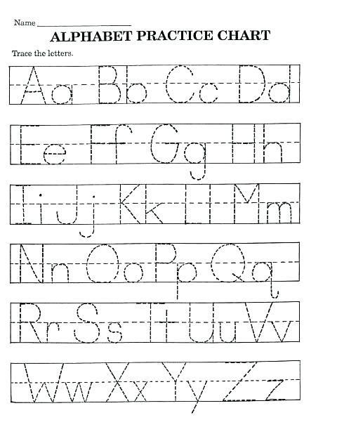 Free Printable Handwriting Worksheet Worksheets And Alphabet