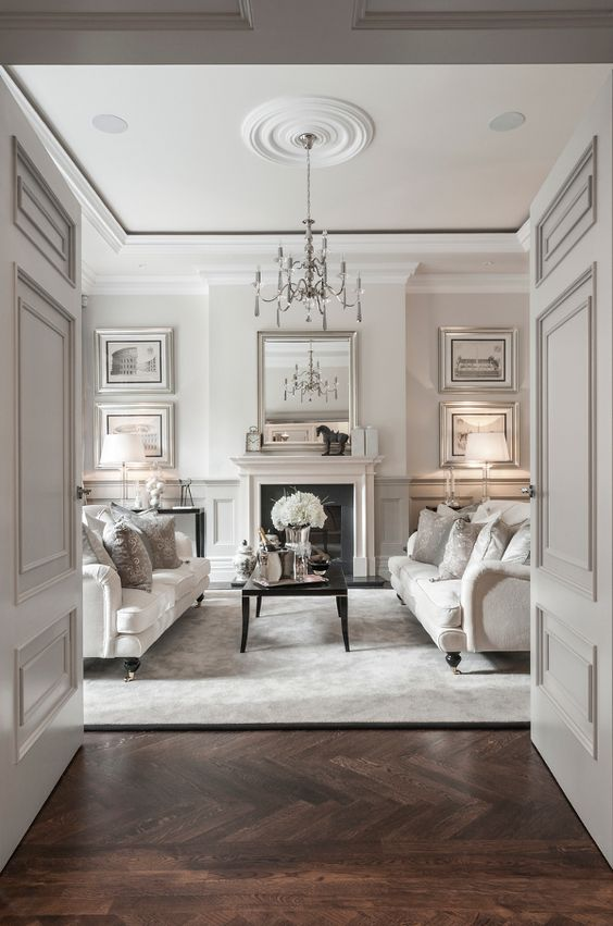 : Interior Design, Livingroom, James Interior, Alexander Jame, White Living Room, Sitting Room, Room Design, Design Idea