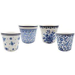 Jogo c/ 4 Potes para Sorvete Blue Dream