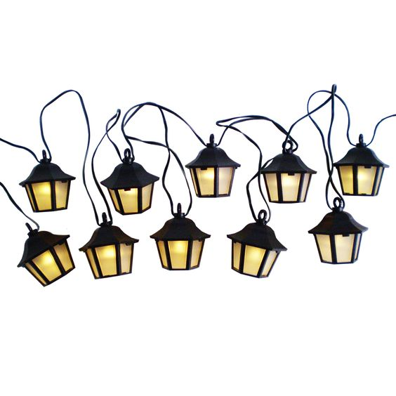 Lantern Solar String Lights - The Range Garden Lights Pinterest Gardens, Solar and The o jays