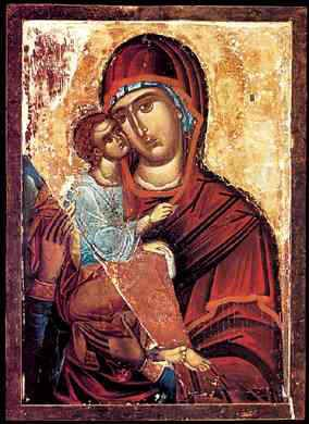 Icon of Our Lady of Hilandar