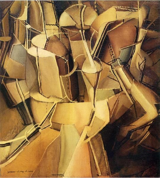 Transition of Virgin into a Bride - Marcel Duchamp