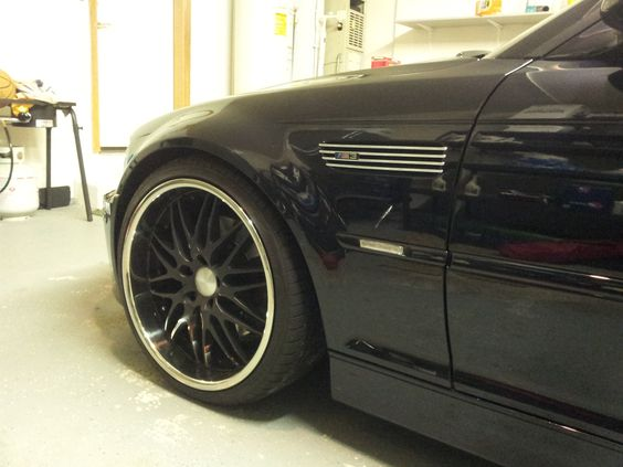 Wouldn't want any other rims on my M3 than my Breyton Spirit II's. Still haven't gotten tired of the look! #E46 #BMW #M3