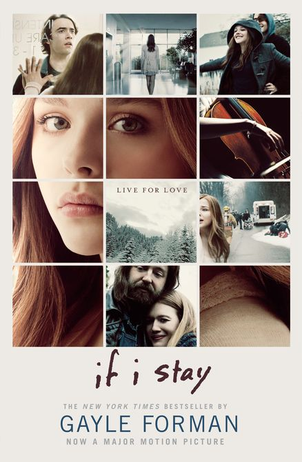 IF I STAY MOVIE TIE-IN by Gayle Forman -- The critically acclaimed, bestselling novel from Gayle Forman, soon to be a major motion picture, starring ChloeGrace  Moretz! Includes exclusive interviews with Chloe Grace Moretz and her co-star Jamie Blackley/