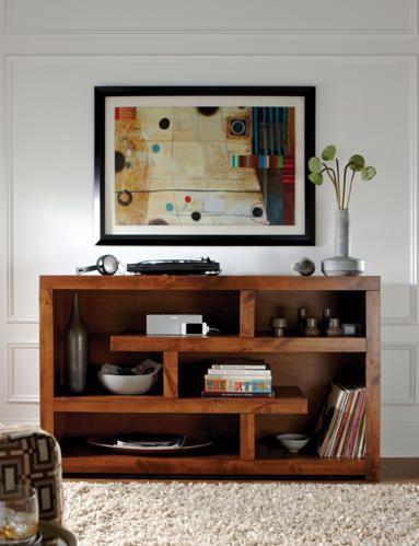 """Alder II 60"""" Console - Art Van Furniture"""