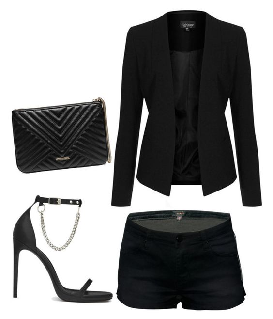 """""""Untitled #3"""" by mediasky ❤ liked on Polyvore featuring Topshop, Yves Saint Laurent and GUESS by Marciano"""