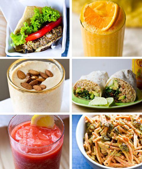 Healthy spring recipes