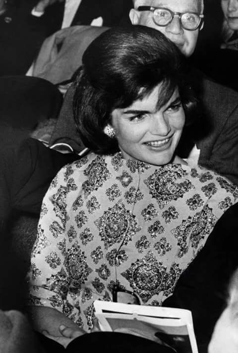Jacqueline Kennedy, ca early 1960's.