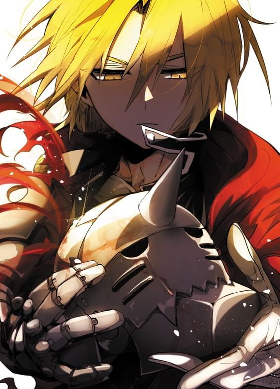 Fullmetal Alchemist is a great graphic novel. It has two 50 episode anime shows and like 3 or 4 video games.