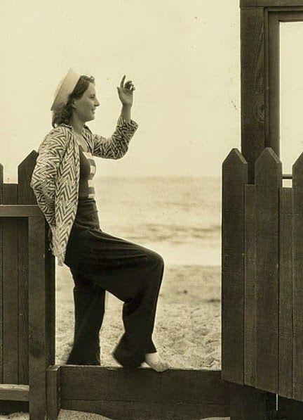 Historia de la Moda y los Tejidos: EL ESTILO CHIC DE LOS AÑOS 30: