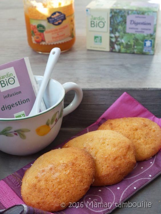 Biscuits moelleux à la compote d'abricot