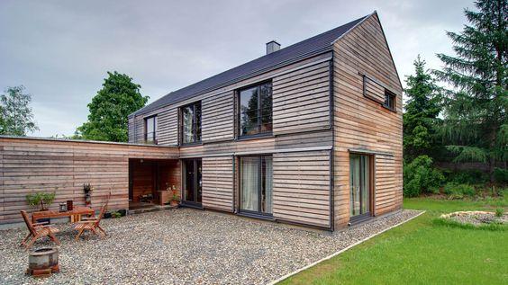 Elegant Modernes Holzhaus bei Villingen Werner Ettwein GmbH Pinterest modernes Holzhaus Holzh uschen und Werner