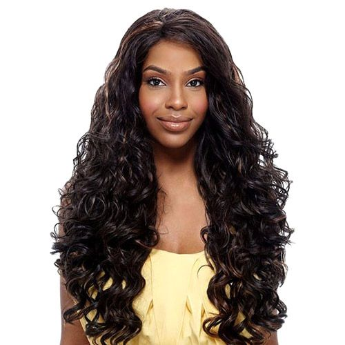 Vanessa Synthetic Lace Front Wig Express Super Top Lace Tops Leena