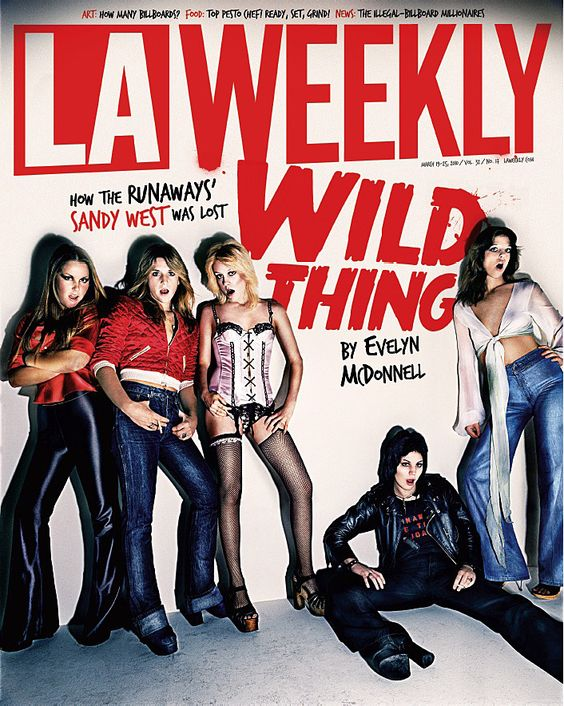 the runaways- even though sam west is dead, I would love to see some sort of reunion. Would never happen though