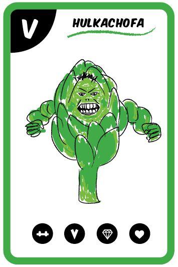 Una luchadora verde insaciable. Nos defiende de los malvados y nos trae súper beneficios para el hígado y la digestión.