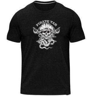 Skallywag Men's Pirate Tar Coffee Tee http://skallywag.us/store/pirate-tar-tee