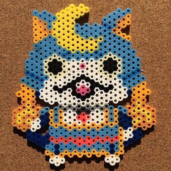 Yo-Kai Watch perler beads by tsubasa.yamashita