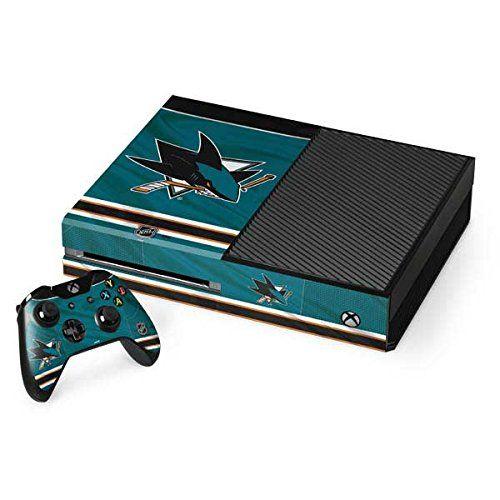 San Jose Sharks Xbox One Console And Controller Bundle Skin San Jose Sharks Home Jersey Nhl X Skinit Skin Http Xbox One Console Xbox One Console