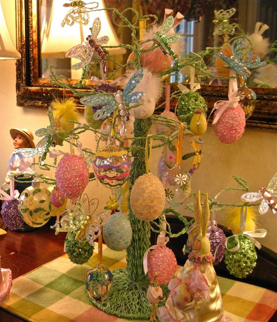 Easter Decor ♥ —  Easter Tree    (1375×1600):
