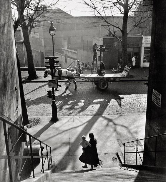 Avenue Simon Bolivar - 1950 © Willy RONIS