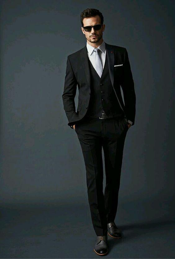 Black n White | Mens Fashion | Pinterest | Style, Gentleman and