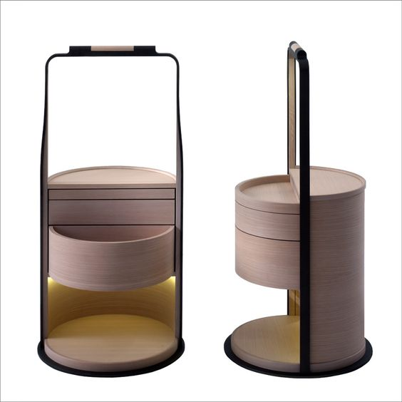Bedside tables pvc pipes and side on pinterest