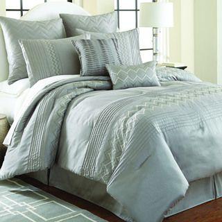 Reagan Jade 8-piece Embroidered Comforter Set | Overstock.com Shopping - Great Deals on Comforter Sets