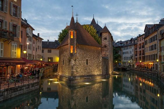 Annecy ~ France stayed here before going to Avoriaz