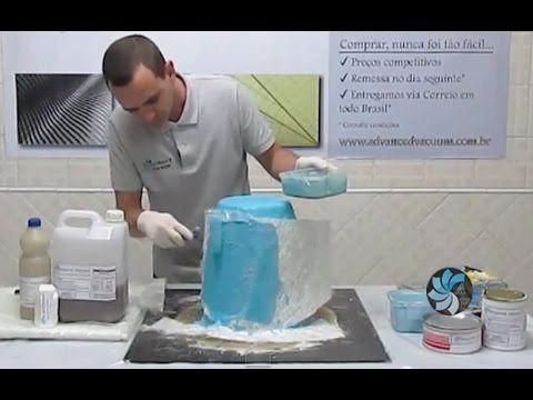 Fibra de Vidro - Como Copiar uma Peça Parte 2/2