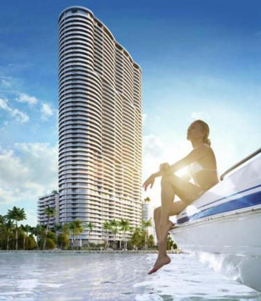 Aria on the Bay - Aria on the Bay condo will be a tower project with 50 floors and 647 condo residences. All units will offer great views and floor plans. Within 15 minute drive from the Aria on the Bay condo, you can enjoy all the great nightlife and restaurants of Miami, Miami Beach, Coral Gables and Coconut Grove. Enjoy amazing water views and relax pool side. The project will include commercial spaces as well.