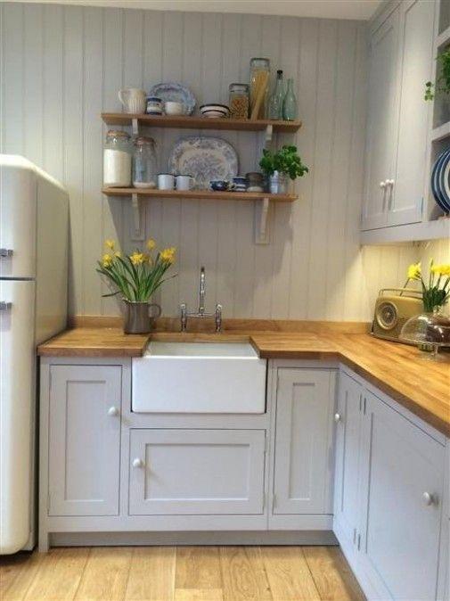 Pinterest Home Decor Small Kitchen Small Country Kitchen Designs Small Country Kitch Small Cottage Kitchen Small Country Kitchens Country Kitchen Designs