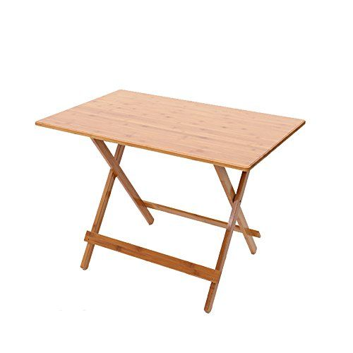 Zhirong Bamboo Art Folding Square Table Portable Dining Table