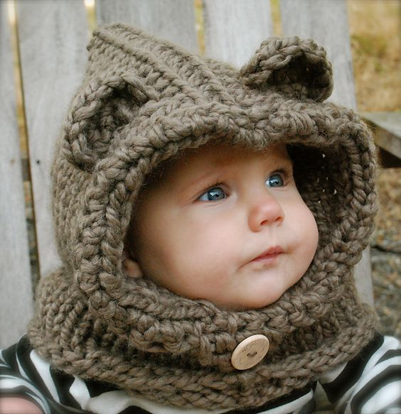 Crochet Baby Bear Cowl Pattern : Burton Bear Cowl pattern by Heidi May My mom, Ravelry ...