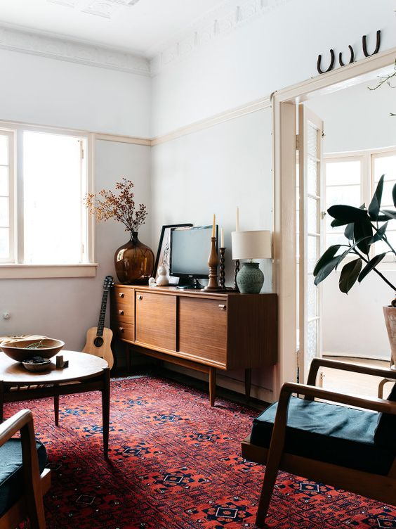 The Brisbane apartment of Nicolette Johnson and Tom Dawson. Photo – Nicolette Johnson.: